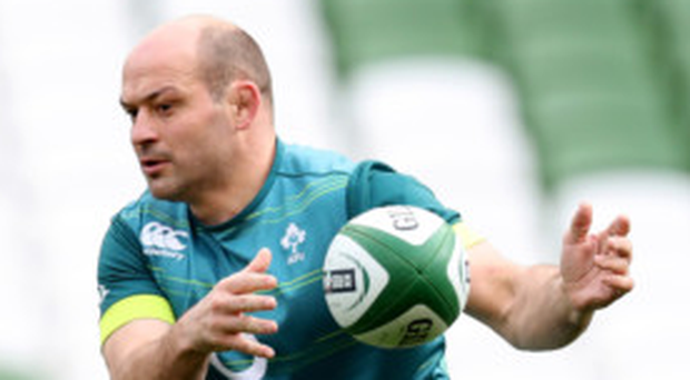 New mindset: Rory Best has revealed how Ireland now believe they can beat anyone on their day as opposed to 12 years ago