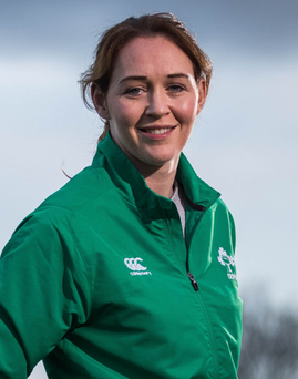 Focused: Marie Louise Reilly is keeping emotions in check
