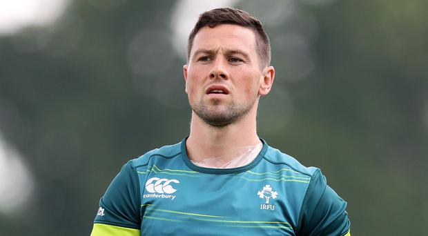 In the cold: John Cooney isn't in the Six Nations squad
