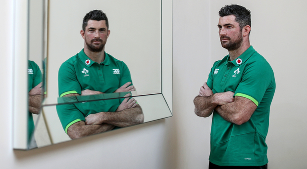 Mirror image: Rob Kearney will once again play a key role for Ireland having earned head coach Joe Schmidt's trust over the years