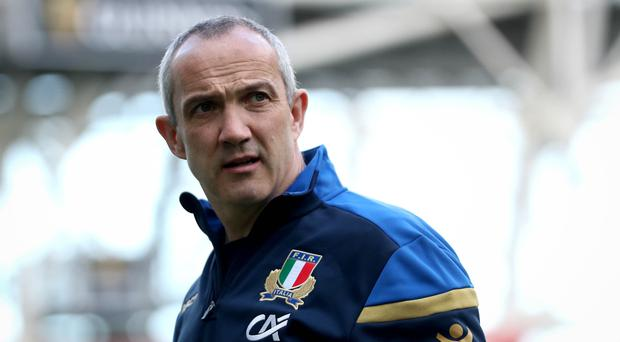 Minor tweaks: Italy's head coach Conor O'Shea