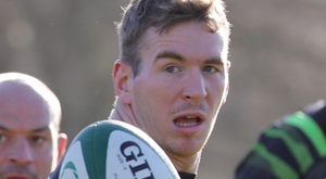 Big chance: Ulsterman Chris Farrell is set to start for Ireland