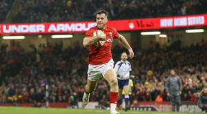 Big words: Gareth Davies has been vocal about Welsh hopes