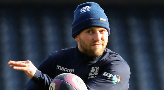 Pressure on: Finn Russell is Scotland's key man