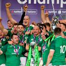 Ireland beat England to record only their third Grand Slam in history
