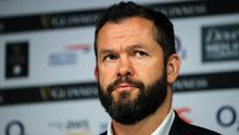 Still going: Andy Farrell is retaining belief that Ireland can win the Six Nations