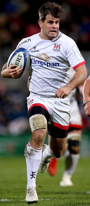 Louis Ludik in action for Ulster (INPHO/Ryan Byrne)