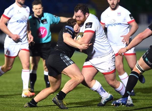 Forward march: Ulster ace Andy Warwick is keen to continue improving at the Kingspan Stadium