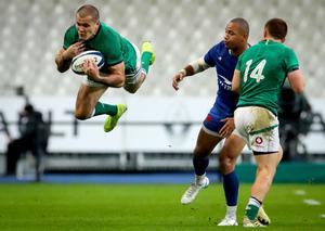 Left hanging: Ireland are due to be in Six Nations action early next month