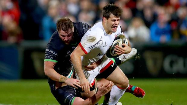 Real ambition: Louis Ludik wants to secure a new Ulster deal