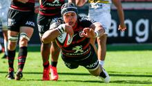 Flying success: South African wing Cheslin Kolbe has helped Toulouse emerge from a dark place and reinvent themselves