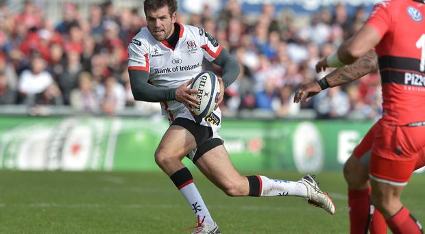 Back again: Jared Payne is available for Ulster after playing a key role in Ireland's successful Six Nations title defence