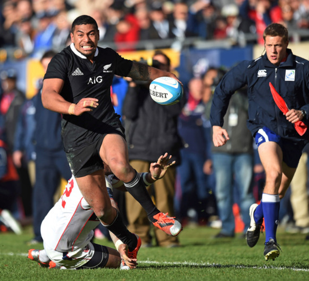 On the move: Charles Piutau has caused anger in New Zealand at his decision to join Ulster
