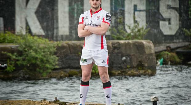 Key decision: Iain Henderson was on his way to university in Edinburgh when he was asked to join Ulster's Under-20s