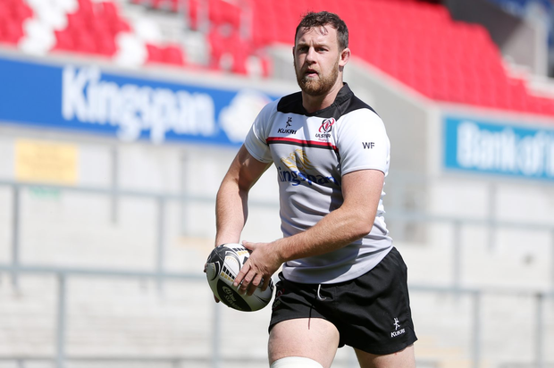 In total control: Willie Faloon believes Ulster can build momentum over the next block of 16 games
