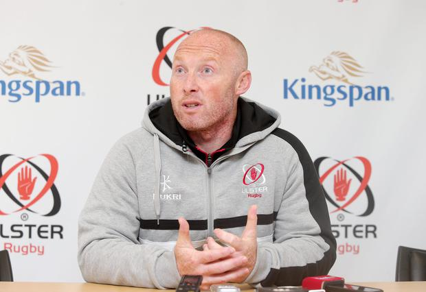 Unbeaten run: Ulster coach Neil Doak is seeking another win