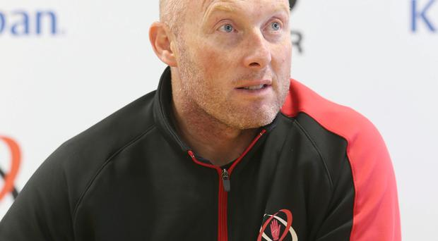 Big challenge: Neil Doak wants another home victory