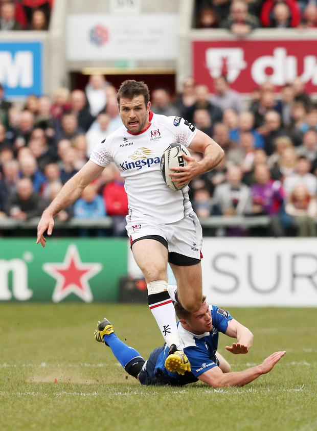 Looking ahead: Ulster's Jared Payne