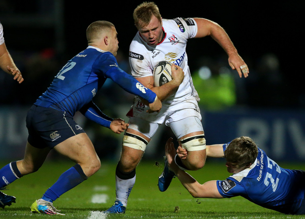 Still going strong: Roger Wilson wants to earn a new Ulster deal