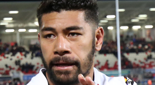 Big game: Charles Piutau put in a man of the match performance