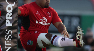 Out of action: Rodney Ah You's injury leaves Ulster chief Les Kiss with a selection headache
