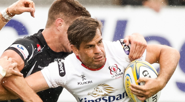 Delighted to sign: Louis Ludik will remain with Ulster until 2020