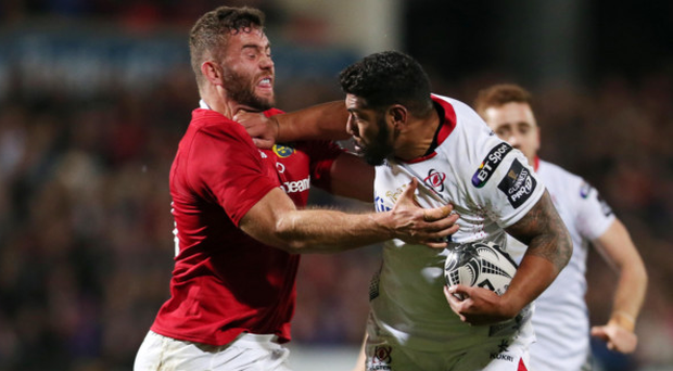 Powerhouse: Charles Piutau will have extra support at the Kingspan tonight