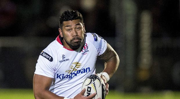 Up for the battle: Charles Piutau