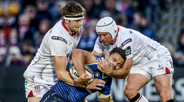 Double act: Iain Henderson is full of praise for Ulster teammate and friend Rory Best