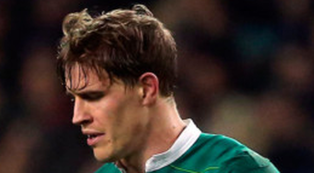 Blow: Andrew Trimble could be ruled out of key European games