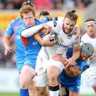 Stuart McCloskey returns for Ulster against Cardiff.