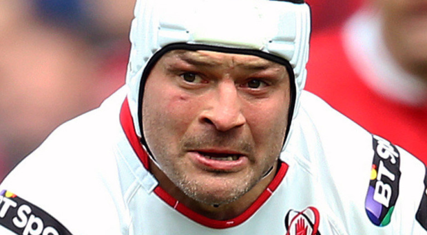 On his way back: Rory Best