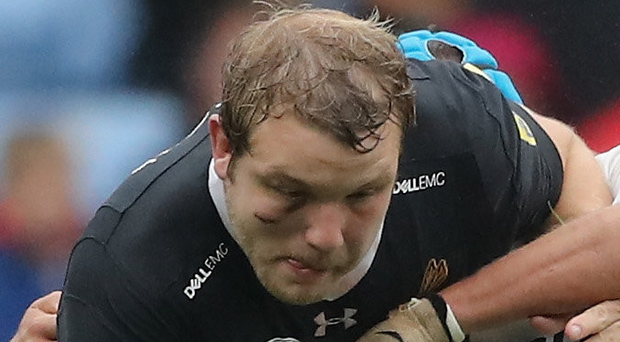 Up for it: Joe Launchbury is excited to face Ulster