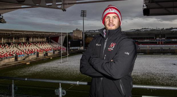 Speaking out: Chris Henry at a chilly Kingspan Stadium