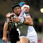 Overwhelming: Christian Leali'ifano was blown away by the ovation he received while leaving the Kingspan pitch