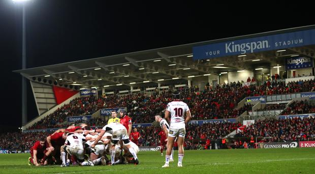 Ulster were to face Glasgow at the Kingspan.