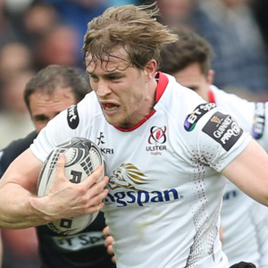 Andrew Trimble will replace injured Craig Gilroy as right wing.