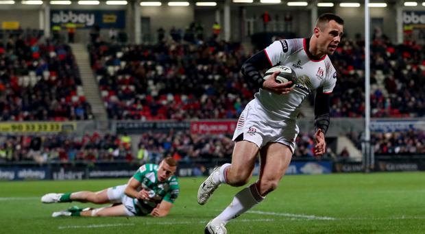 Curtain call: Tommy Bowe insists he will help Ulster in whatever way he can before retiring at the end of the campaign