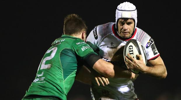 Cool head: Ulster's Louis Ludik knows his side need a victory