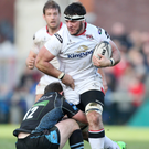 Hopeful: Ulster's Marcell Coetzee is close to a comeback