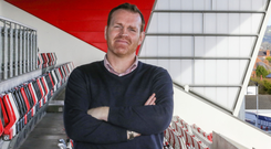 New man: Ulster Chief Executive Jonny Petrie