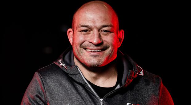 Decision made: Rory Best at the Kingspan yesterday after announcing his impending retirement