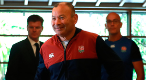 Old master: Eddie Jones is playing a clever game with the media