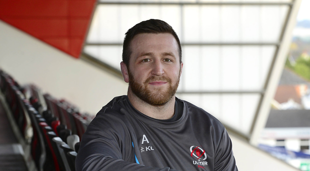 Tough test: Ulster's Alan O'Connor at Kingspan Stadium this week ahead of tomorrow's big Champions Cup clash at Bath
