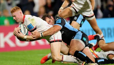 Promising performer: Nathan Doak impressed in Friday's defeat of Glasgow Warriors
