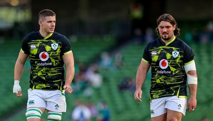Nick Timoney and Tom O'Toole have held on to their places in the Ireland squad. Pic: INPHO/Ryan Byrne