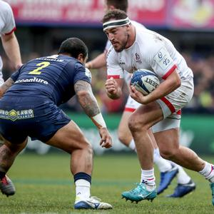 Front foot: Rob Herring is relishing his role as Ulster's starting hooker