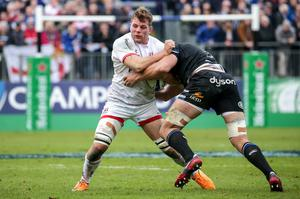 All set: Ulster's Jordi Murphy is relishing a return to action