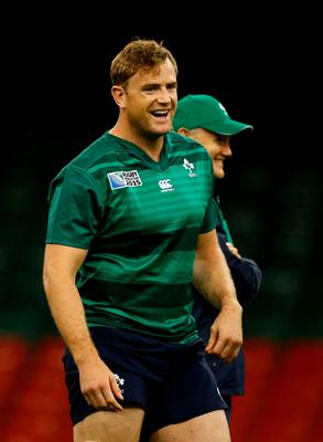 Making noise: Jamie Heaslip can't wait to hear the fans