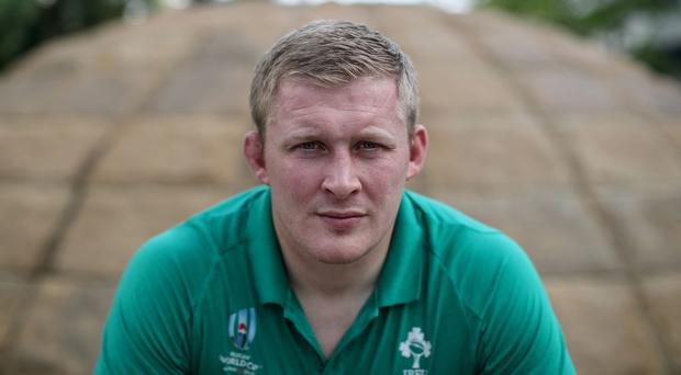 Team player: John Ryan is set to feature in the front row